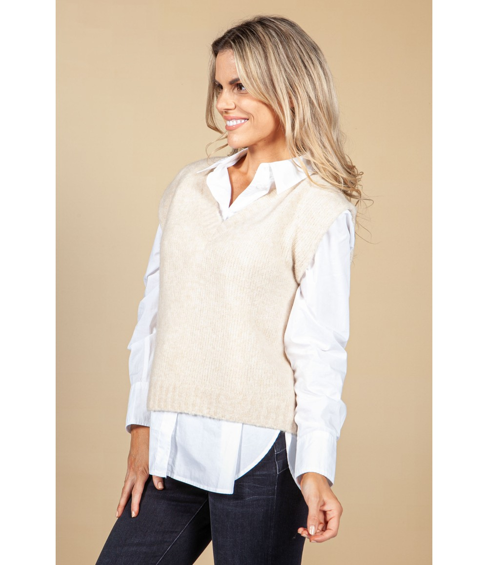 Opus Pilom Knitted Sweater Vest