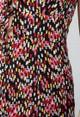 Little Mistress Vogue Williams Confetti Print Strap Dress