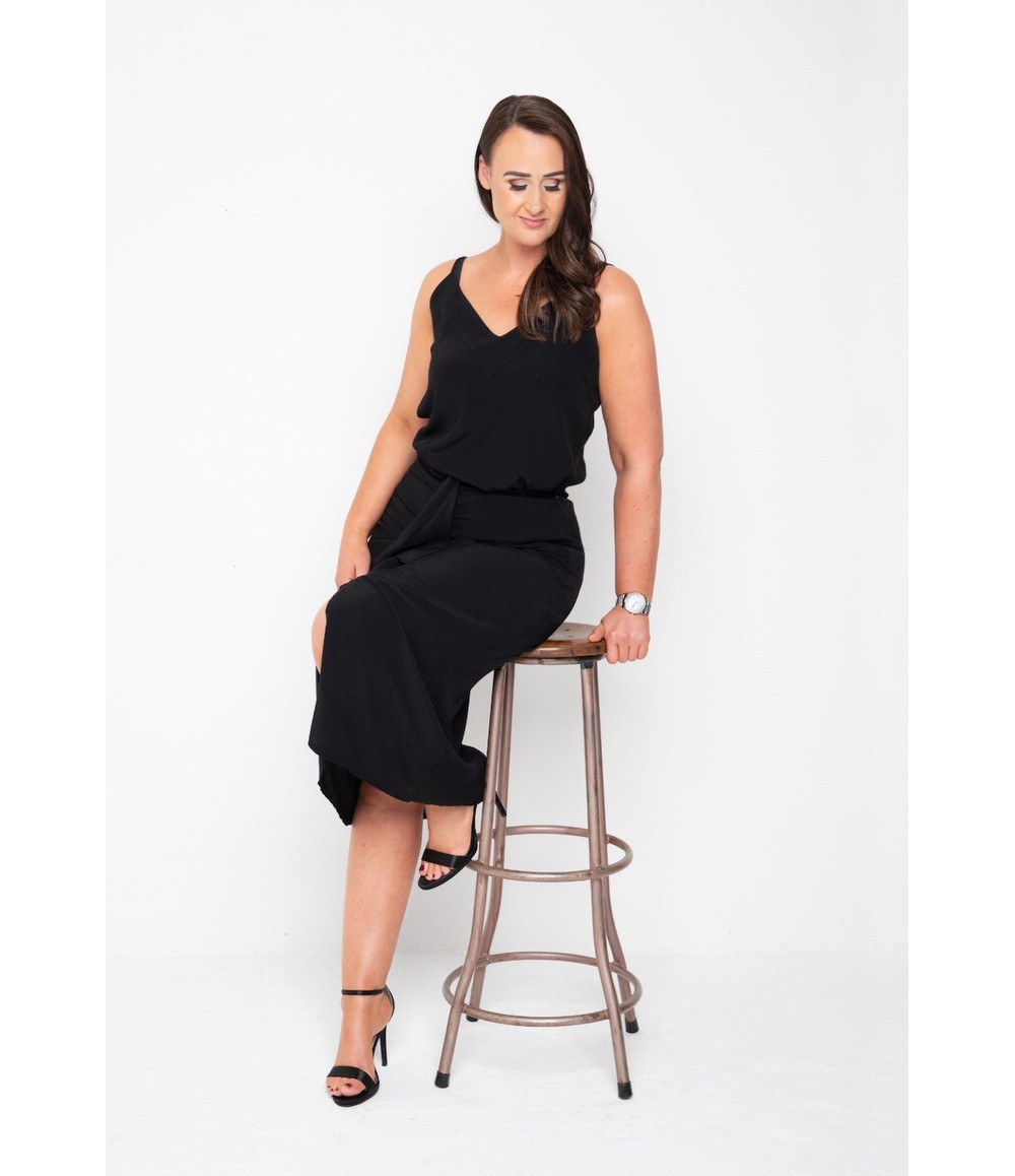The Gail Collection CAMI In Black