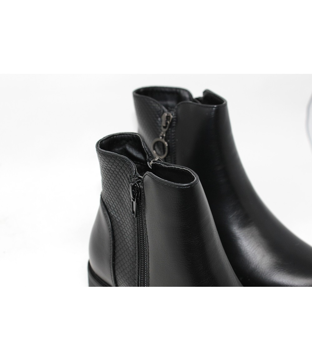 Shoe Lounge Zipped Ankle Boot