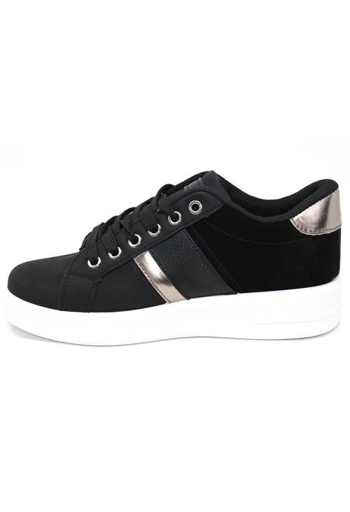 Shoe Lounge Laced Plain Front Trainer