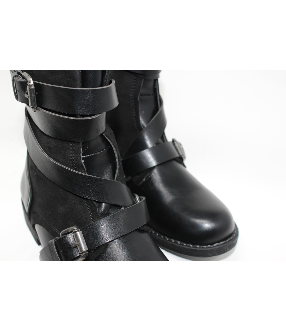 Shoe Lounge Strap Detail Ankle Boot