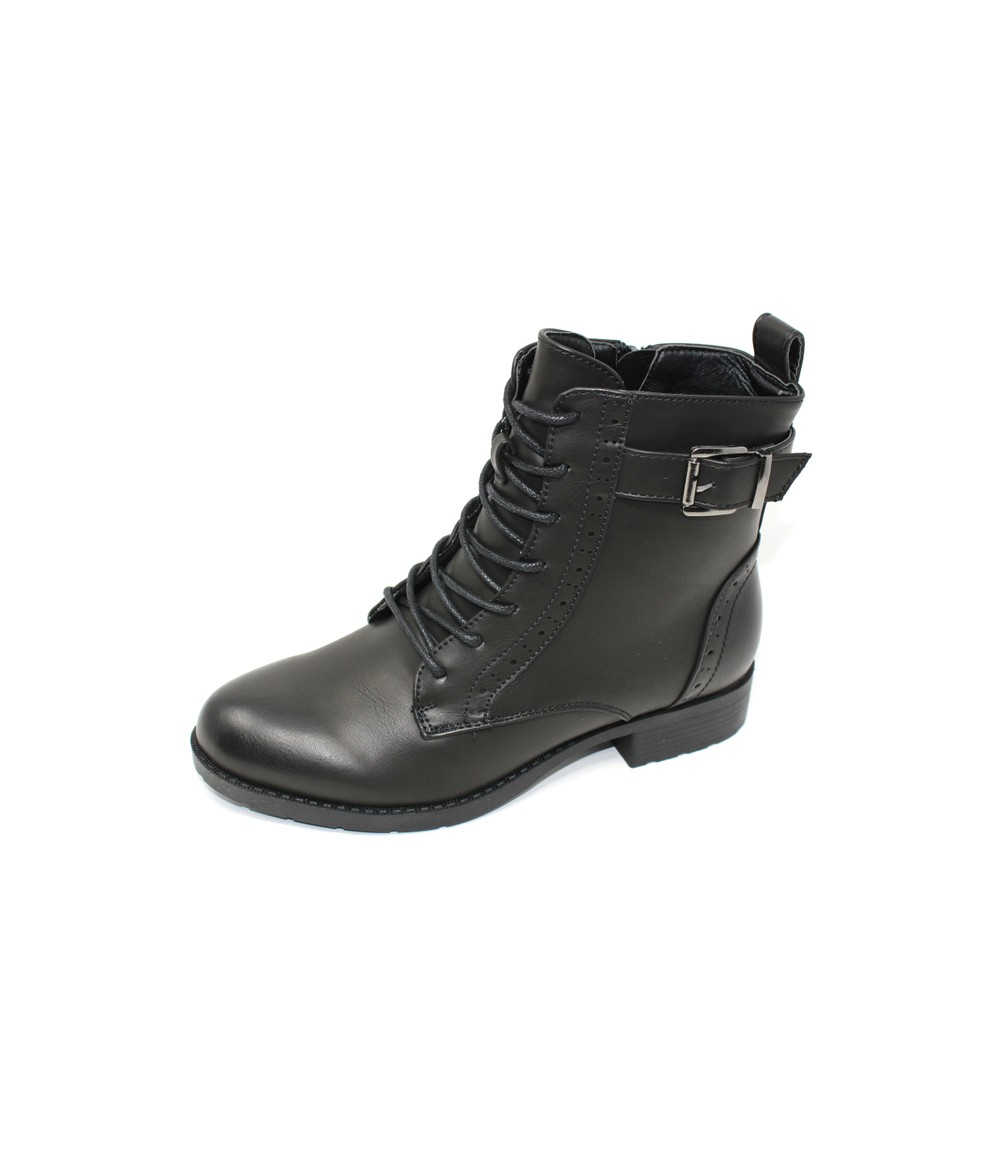 Shoe Lounge Leather Look Ankle Boot