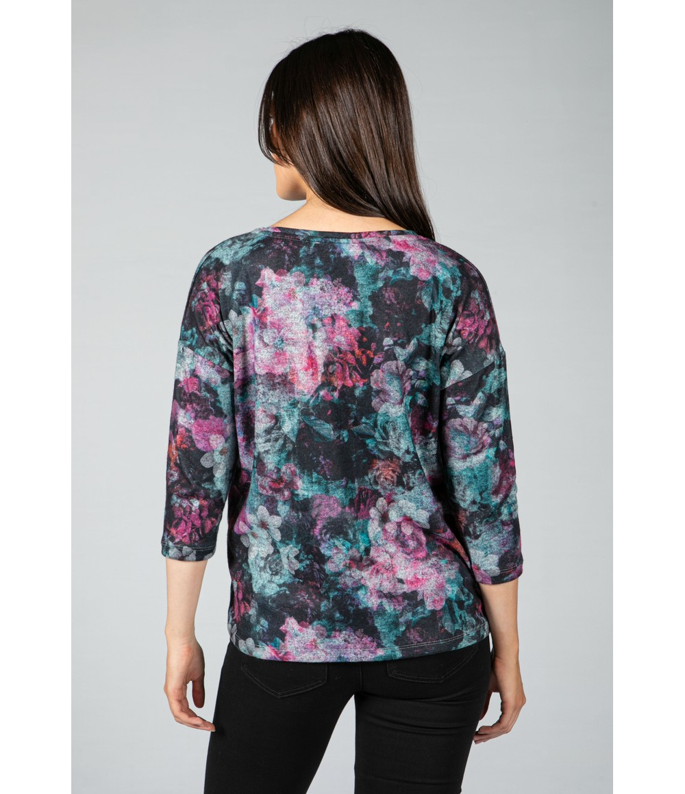 Sophie B Floral Soft Touch top