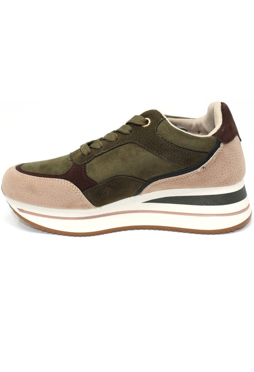 Shoe Lounge Laced Athletic Look Trainer