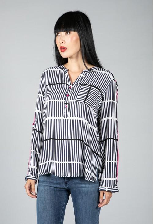 Twist Multi Stripe Shirt