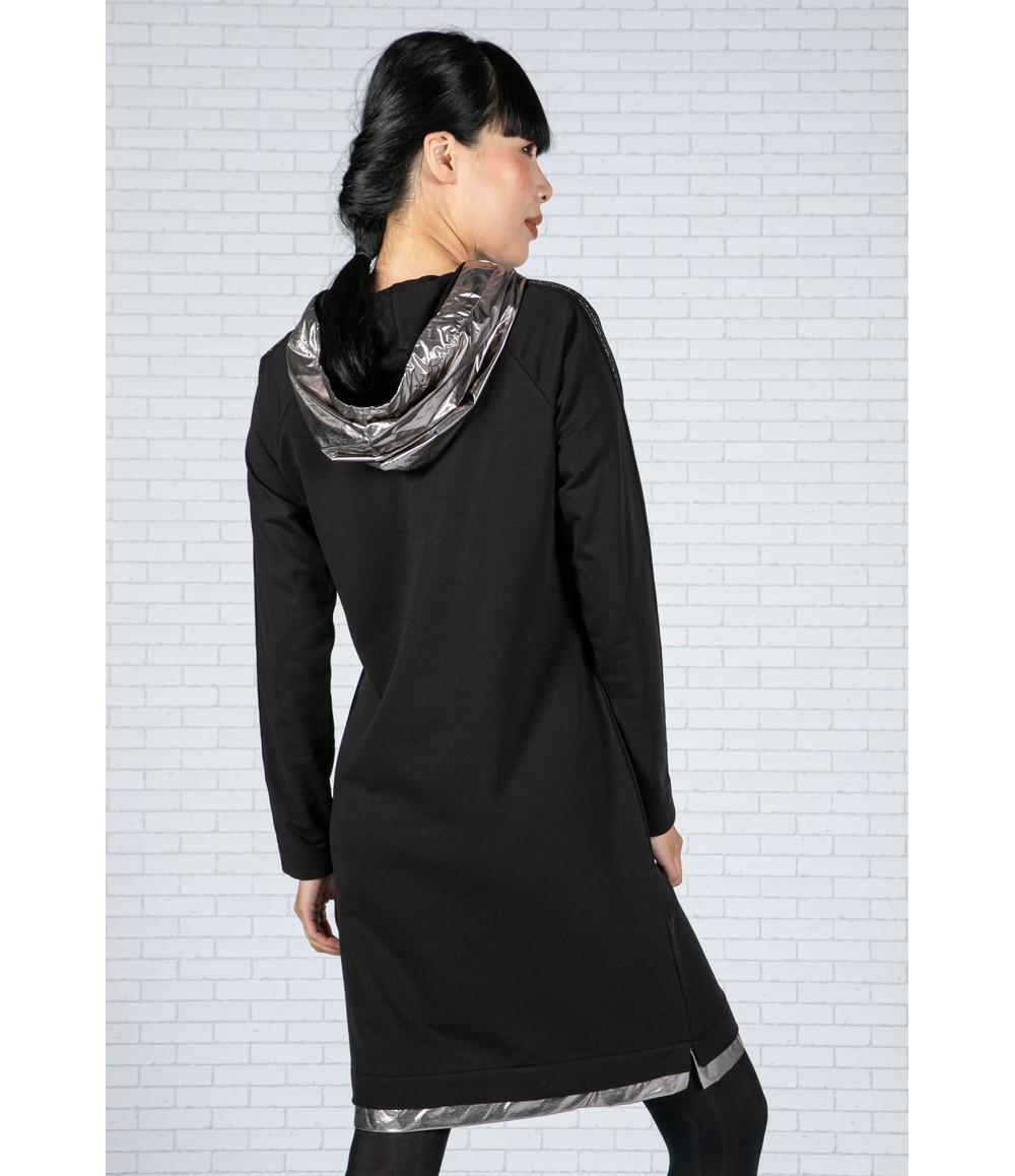 Tuzzi Jumper Dress with Hood