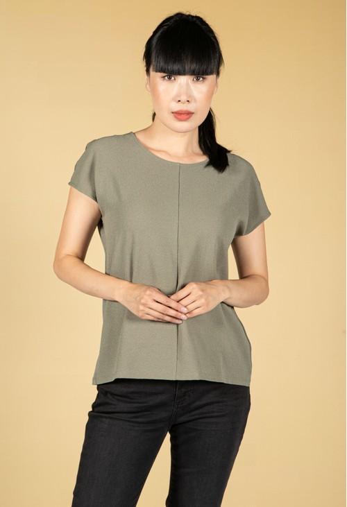 Opus Sudo T-Shirt in Soft Moss