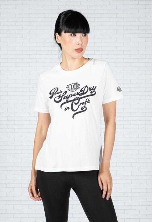 Superdry Pride In Craft T-Shirt in Ecru