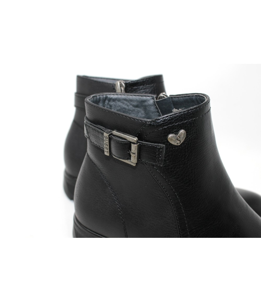 Susst Low Wedge Ankle Boot