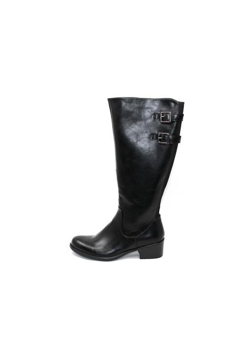 Susst Block Heel Long Boot