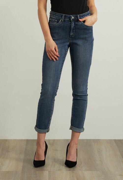 Joseph Ribkoff Straight Leg Jeans Style