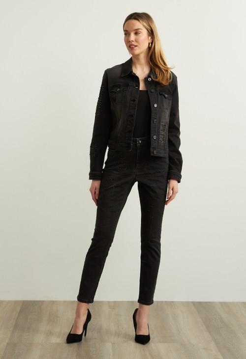 Joseph Ribkoff Dark Wash Jeans Style