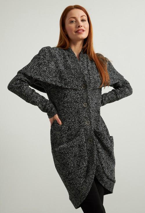 Joseph Ribkoff Jacquard Knit Jacket