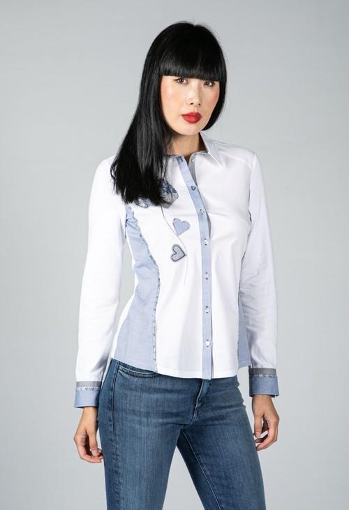 Tinta Style Sweetheart Design White Shirt