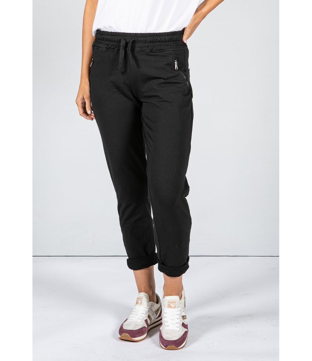 Zapara Black Jog Pants