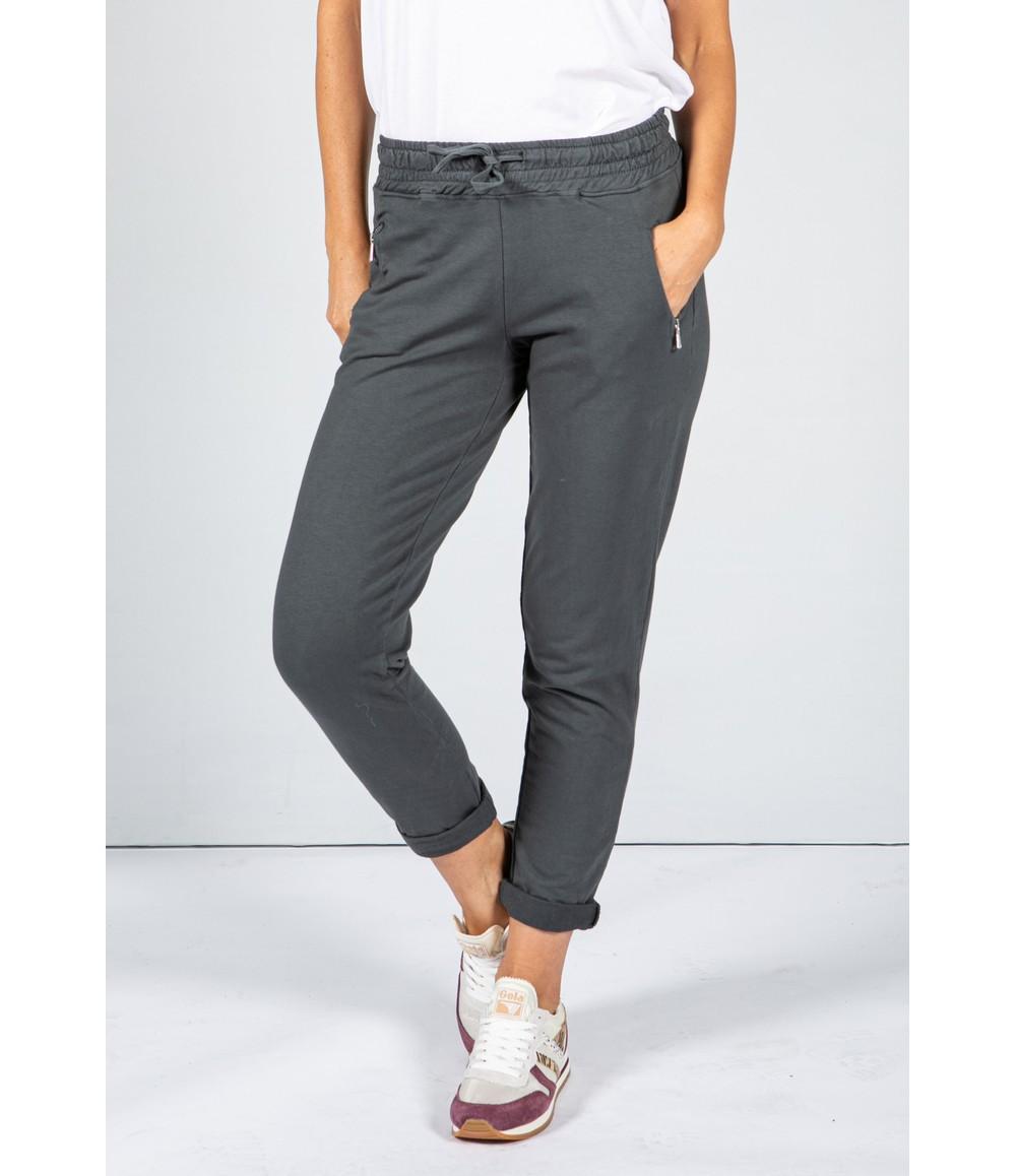Zapara Charcoal Grey Jog Pant