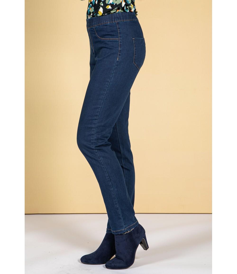 Twist Easy Pull On Dark Wash Jeans