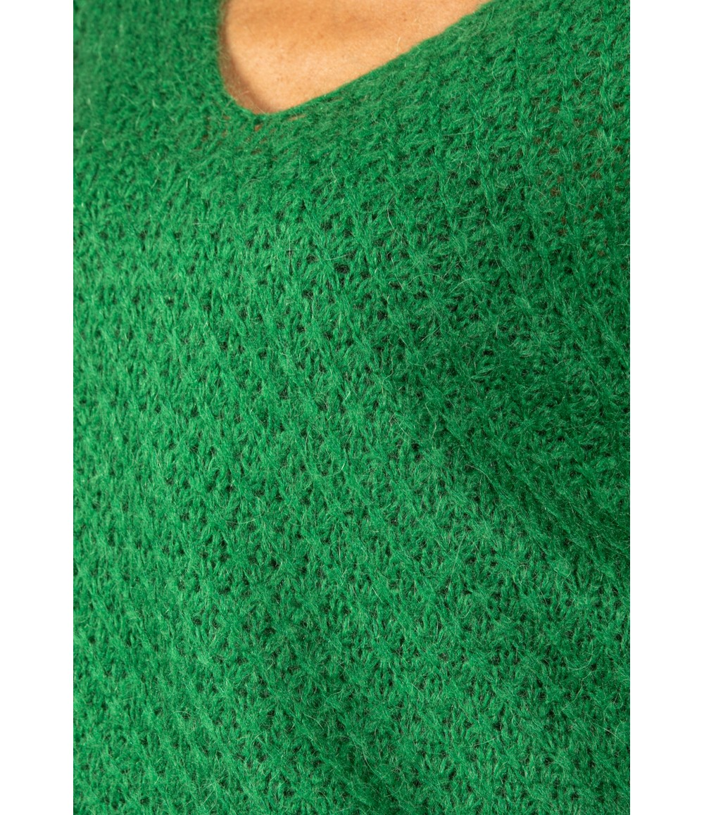 Emporium RELAXED FIT PULLOVER KNIT IN IVY