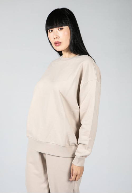 Armedangels Organic Cotton Sweatshirt in light desert