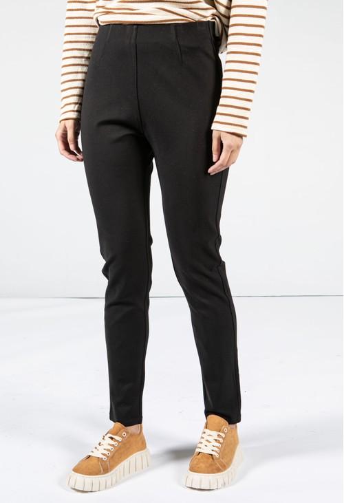 Sophie B Black Slim Leg Pull On Trousers