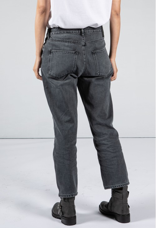 Armedangels Straight Leg Grey Wash Denim Jeans