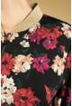 Zapara Poppy Print Bomber Jacket