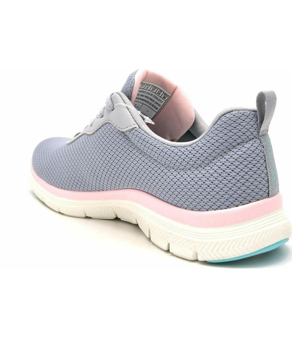 Skechers Sporty lace-up sneaker in Grey