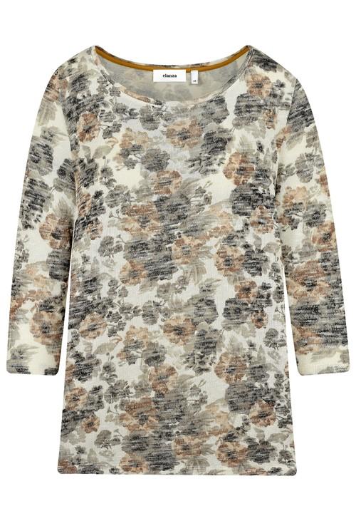 Elanza Soft Floral Knit Top