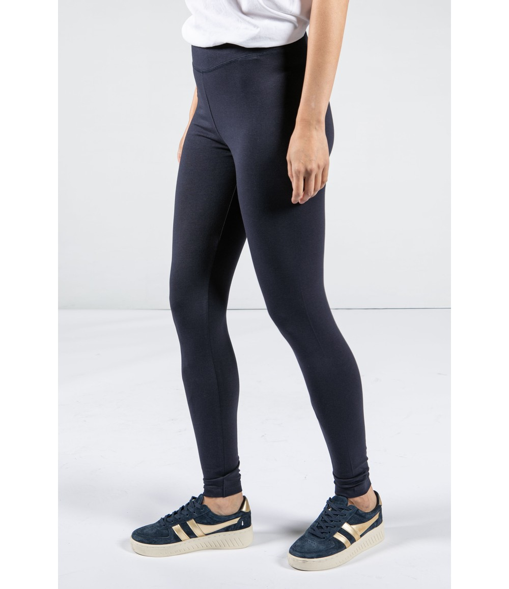 Armedangels LEGGINGS MADE OF ORGANIC COTTON MIX IN NAVY