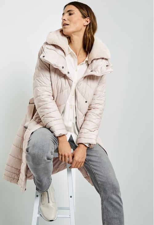 Gerry Weber Detachable Faux Fur collared Coat