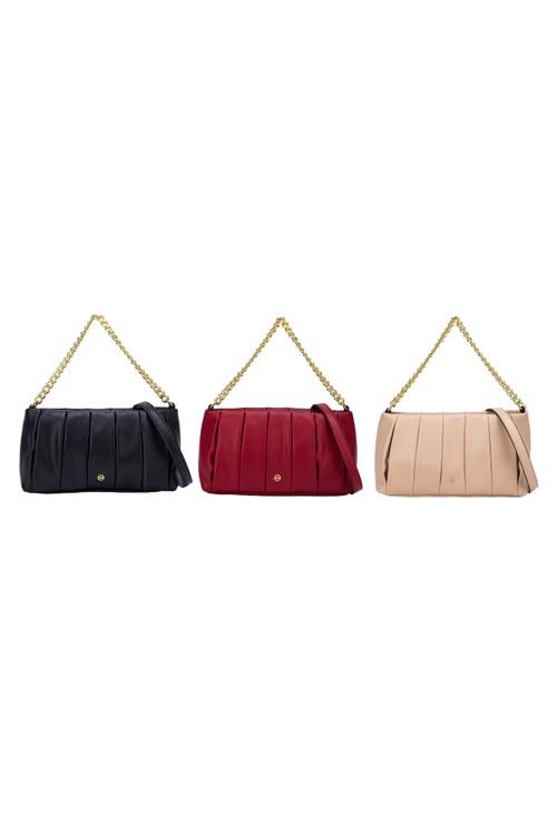 Gionni Yari Braided Handle Bucket Bag