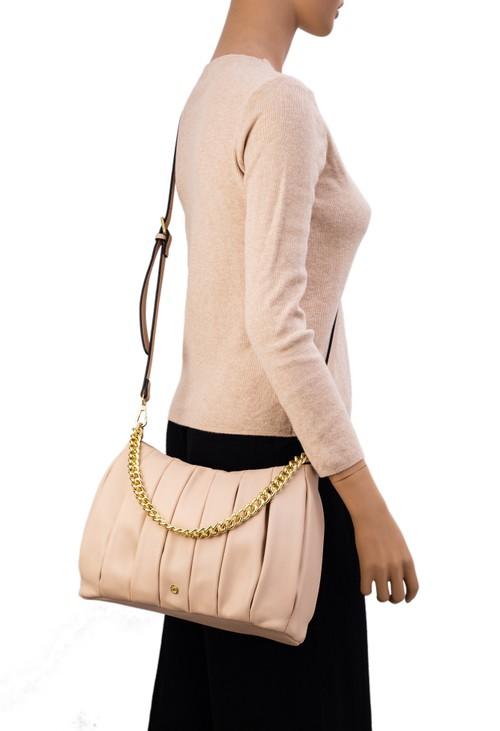 Gionni Perla Pleated Bag With Chain