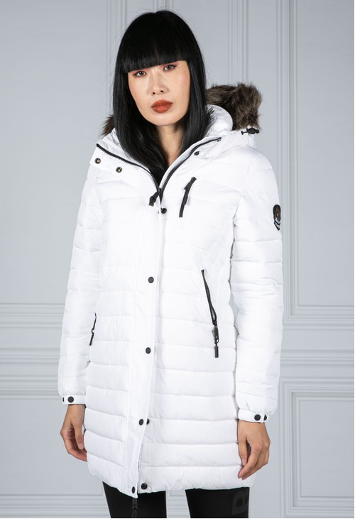 Superdry Super Fuji Jacket in White