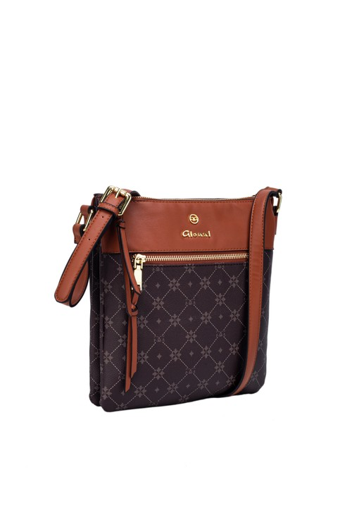 Gionni Sunstone Monogram Xbody Bag