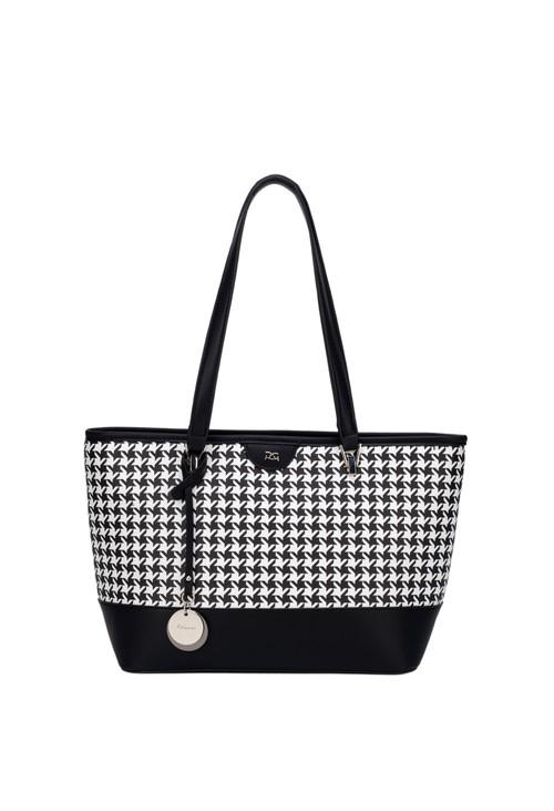 Gionni Pessa Shopper Houndstooth Bag