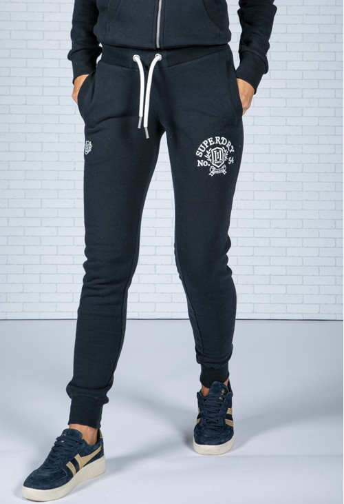 Superdry Pride In Craft Joggers in Eclipse Navy