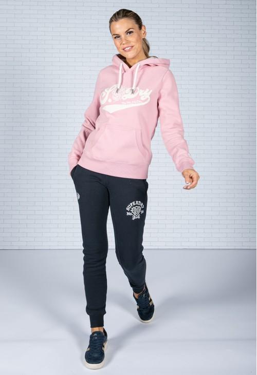 Superdry Pride In Craft Hoodie Soft Pink