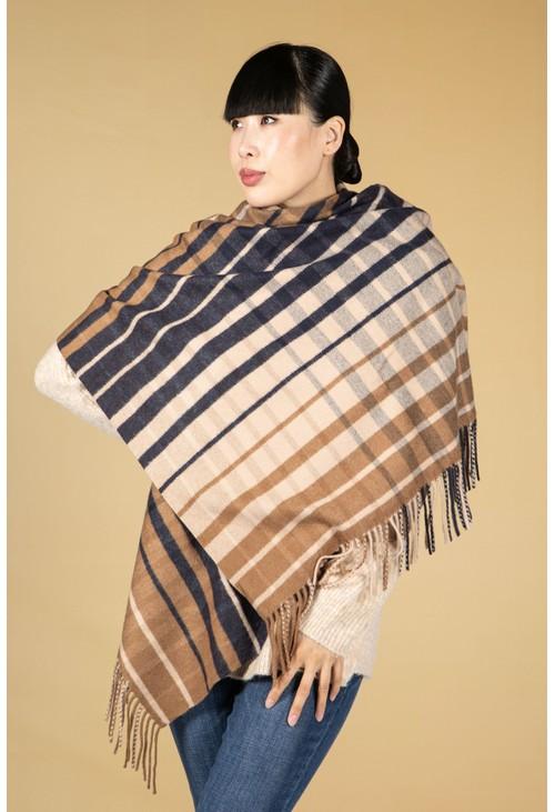 Opus Akante check scarf