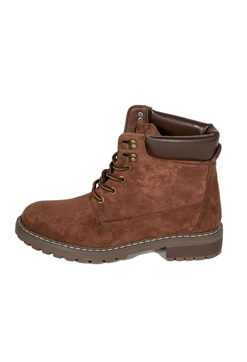 Shoe Lounge Brown Rugged Look Boot