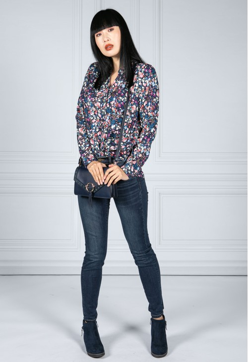 Tinta Style Mini Blossom Print Shirt
