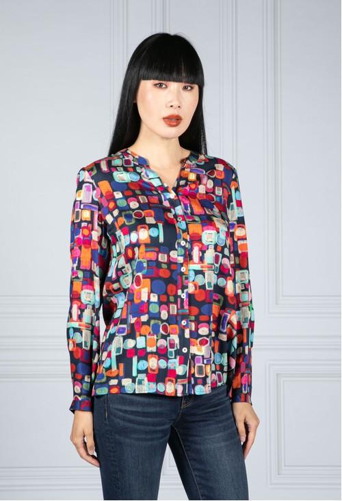 Tinta Style Abstract Printed Shirt