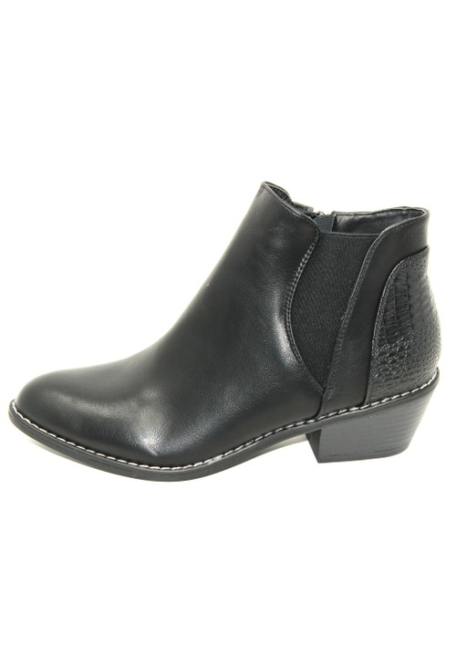 Shoe Lounge Black Ankle Boot