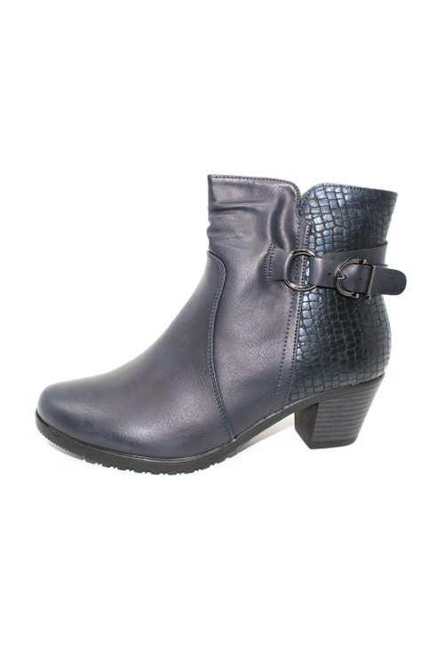 Shoe Lounge Navy Ankle Boot