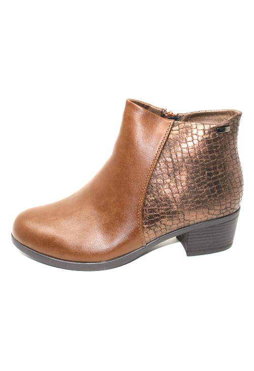 Shoe Lounge Brown Ankle Boot