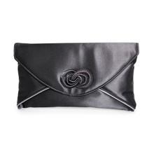 Lunar Black Envelope Bag