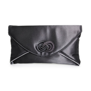 Lunar Black Envelope Bag