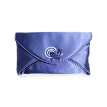 Lunar Blue Envelope Bag