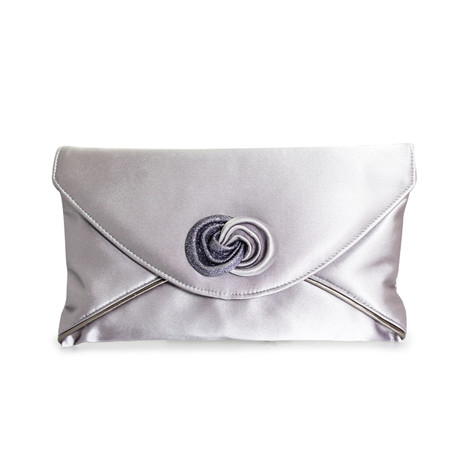 Lunar Silver Envelope Bag