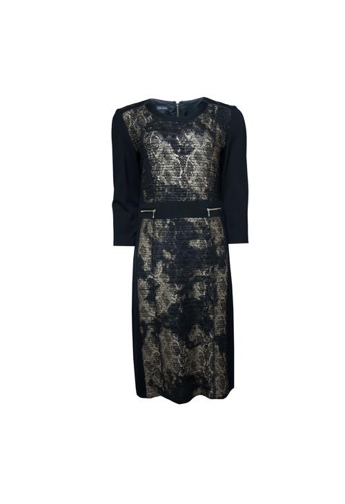 Gerry Weber Gerry Weber Gold Zip Black Dress Pamela Scott